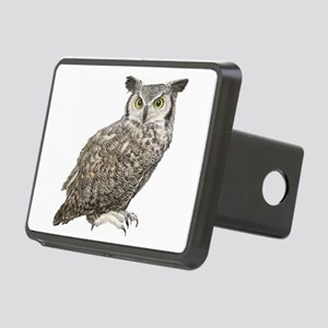 Owl Rectangular Hitch Cover
