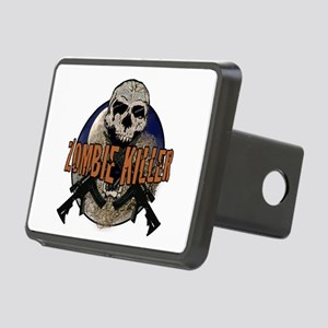 Tactical zombie killer Rectangular Hitch Cover