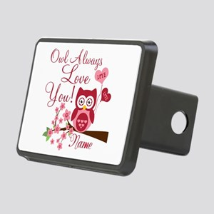 Owl Always Love You Rectangular Hitch Cover