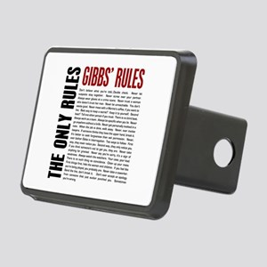 Gibbs' Rules Rectangular Hitch Cover
