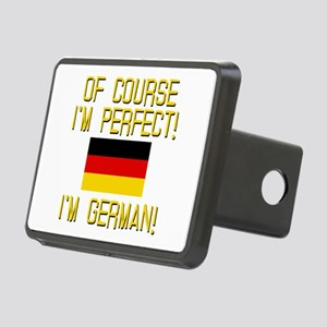 I'm Perfect I'm German Rectangular Hitch Cover