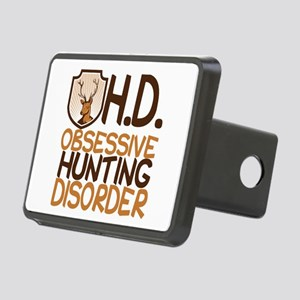 Funny Hunting Rectangular Hitch Cover