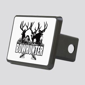 Bowhunter bucks b Rectangular Hitch Cover