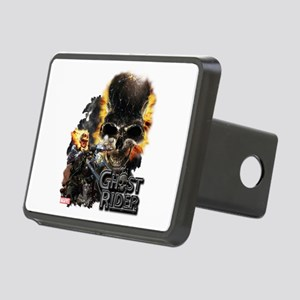 Ghost Rider Skull Rectangular Hitch Cover