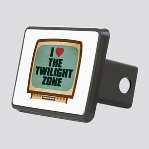 Retro I Heart The Twilight Zone Rectangular Hitch