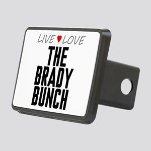 Live Love The Brady Bunch Rectangular Hitch Cover