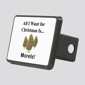 Christmas Morels Rectangular Hitch Cover