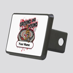 Custom Ground and Pound MM Rectangular Hitch Cover