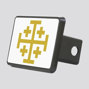 Crusaders Cross Rectangular Hitch Cover