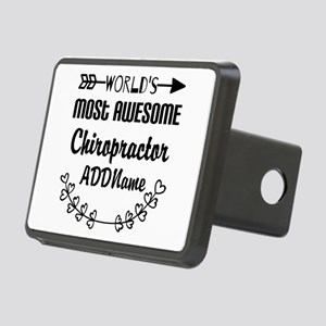 Personalized Worlds Most A Rectangular Hitch Cover