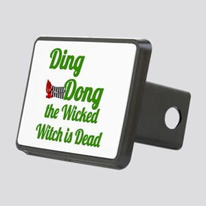 Ding Dong the Witch is Dea Rectangular Hitch Cover