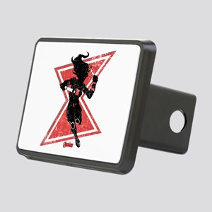 The Avengers Black Widow Rectangular Hitch Cover
