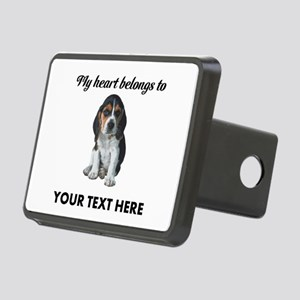 Personalized Beagle Custom Rectangular Hitch Cover
