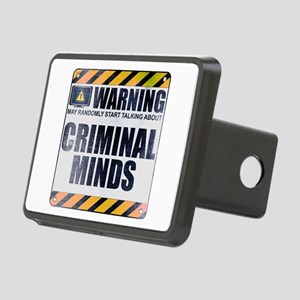 Warning: Criminal Minds Rectangular Hitch Cover