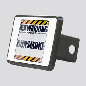 Warning: Gunsmoke Rectangular Hitch Cover