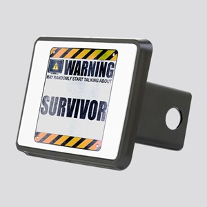 Warning: Survivor Rectangular Hitch Cover