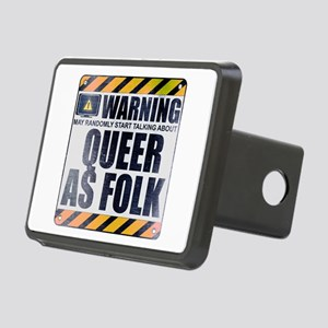 Warning: Queer as Folk Rectangular Hitch Cover