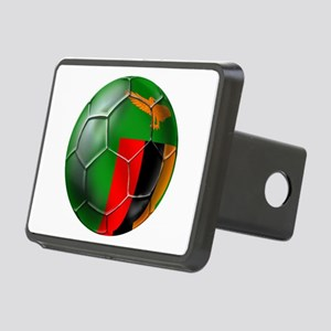 Zambia Football Rectangular Hitch Cover