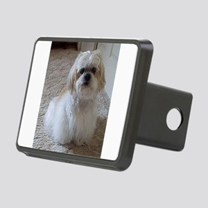lhasa apso sitting 2 Hitch Cover