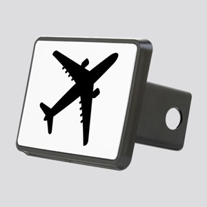 Airplane Jet Rectangular Hitch Cover