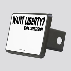 Want Liberty Rectangular Hitch Cover