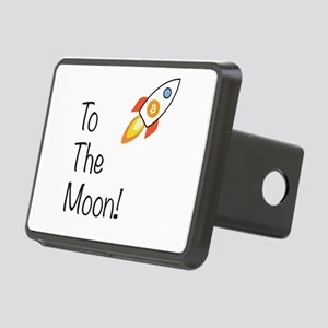 Bitcoin - To The Moon! Rectangular Hitch Cover