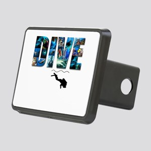 dive in pics copy Rectangular Hitch Cover