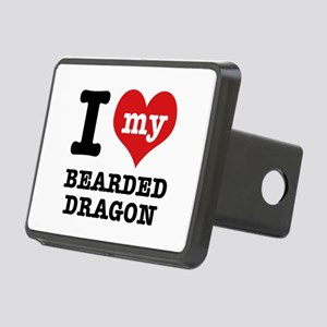I love my Bearded Dragon Rectangular Hitch Cover