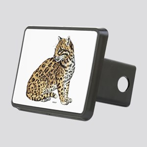 Ocelot Wild Cat Rectangular Hitch Cover
