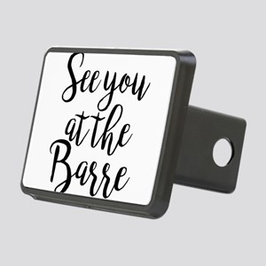 See You At The Barre Group Rectangular Hitch Cover