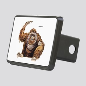 Orangutan Ape Rectangular Hitch Cover