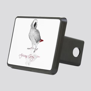 africangreyparrotgifts Rectangular Hitch Cover