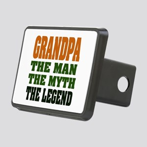 Grandpa The Legend Rectangular Hitch Cover
