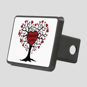 Donate Life Tree Rectangular Hitch Cover