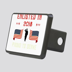 Enlisted 2018 Military Pro Rectangular Hitch Cover