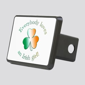 Everybody loves an Irish girl! Rectangular Hitch C