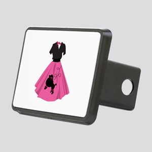 Poodle Skirt Hitch Cover