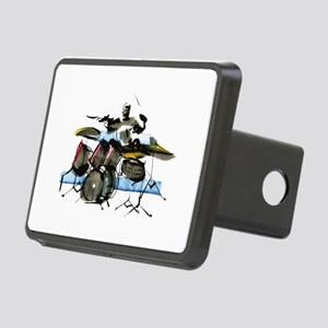Drummer Rectangular Hitch Cover