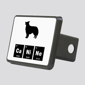 Border Collie Rectangular Hitch Cover