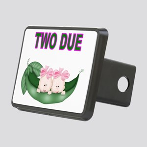 DOUBLE BLESSING-TWIN GIRLS Rectangular Hitch Cover