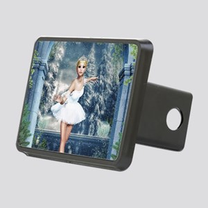 Snow Princess Nutcracker B Rectangular Hitch Cover