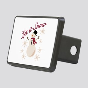 Let It Snow Hitch Cover