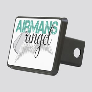 Airmans Angel Green Rectangular Hitch Cover