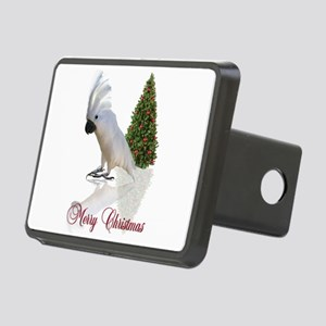 cockatoo christmas Rectangular Hitch Cover