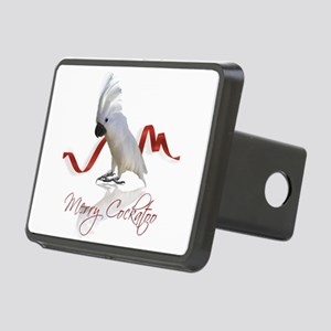 merry cockatoo Rectangular Hitch Cover