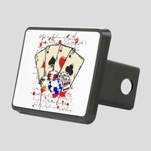 game casino Rectangular Hitch Cover