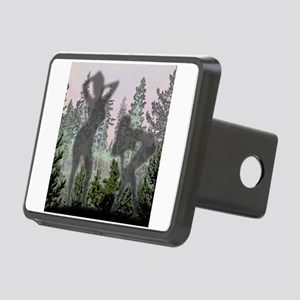 Nudes in pines Rectangular Hitch Cover
