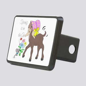 Baby Nubian Goat Rectangular Hitch Cover