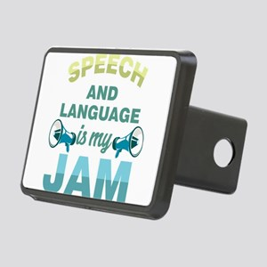 Speech Language Pathologis Rectangular Hitch Cover