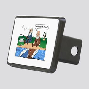 Fishing With Moses Rectangular Hitch Cover